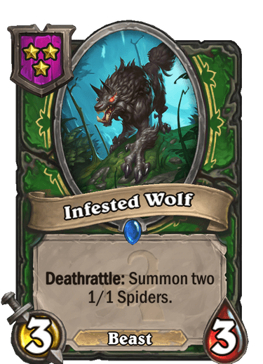 Infested Wolf Card!