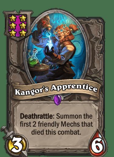 Kangor's Apprentice Card!