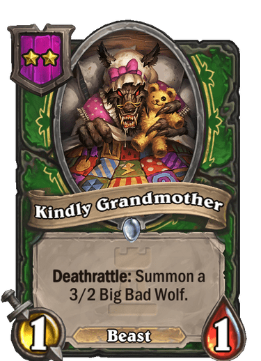 Kindly Grandmother Card!