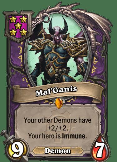 Mal'Ganis Card!