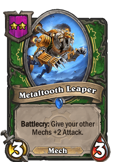 Metaltooth Leaper Card!