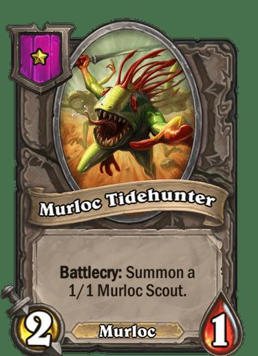 Murloc Tidehunter Card!