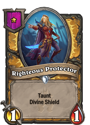 Righteous Protector Card!