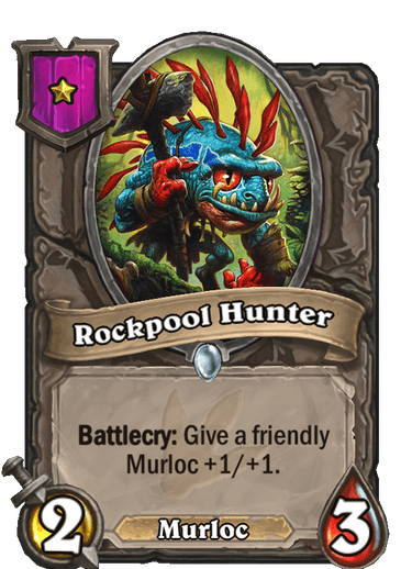 Rockpool Hunter Card!