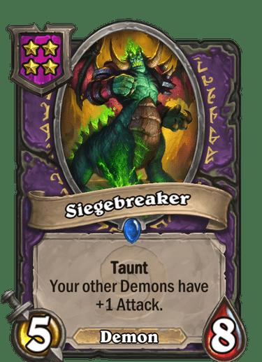 Siegebreaker Card!