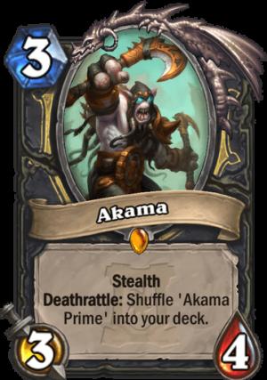 Akama Card