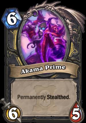 Akama Prime Card