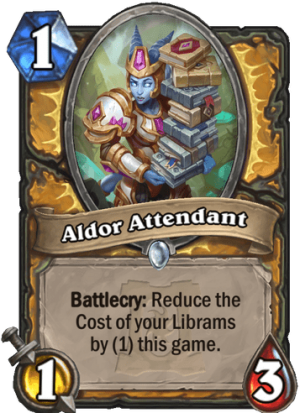 Aldor Attendant Card