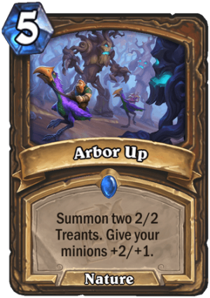 Arbor Up Card
