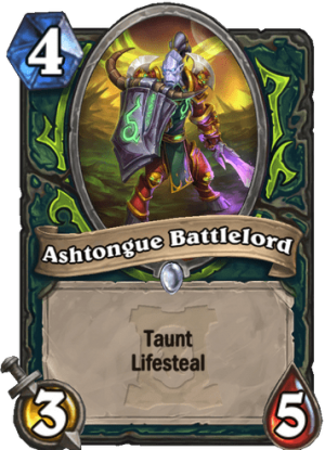 Ashtongue Battlelord Card