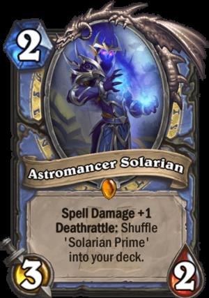 Astromancer Solarian Card