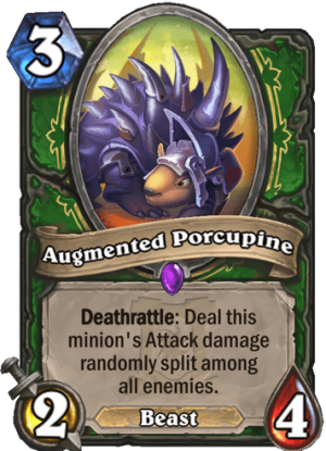 Augmented Porcupine Card