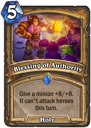 Blessing of Authority Card