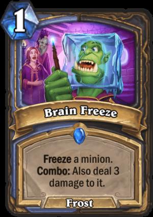 Brain Freeze Card