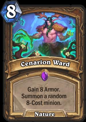 Cenarion Ward Card