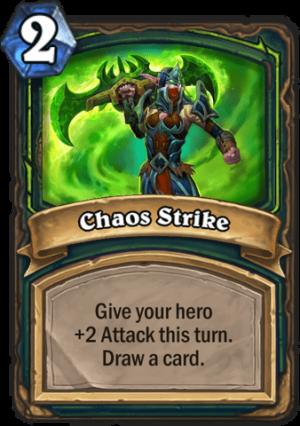 Chaos Strike Card
