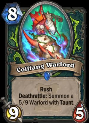Coilfang Warlord Card