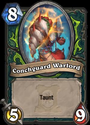 Conchguard Warlord Card