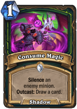 Consume Magic Card
