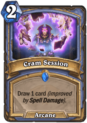 Cram Session Card