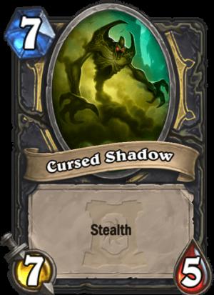 Cursed Shadow Card