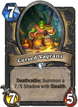 Cursed Vagrant Card