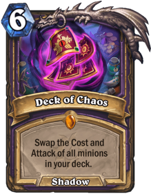 Deck of Chaos Card