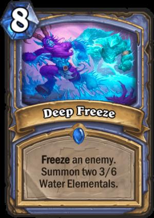 Deep Freeze Card