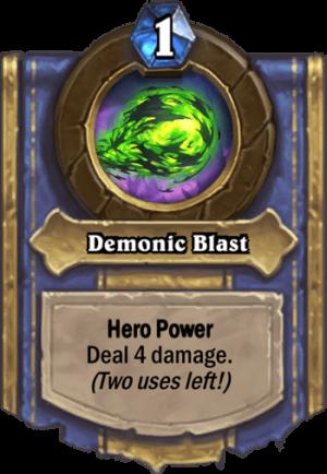 Demonic Blast Card