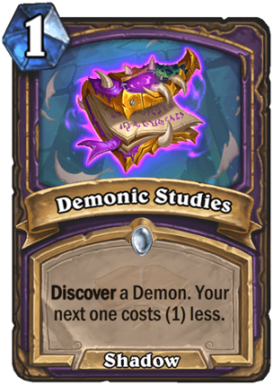 Demonic Studies Card