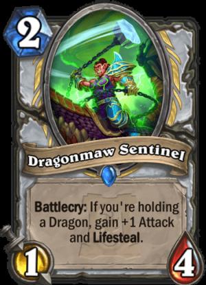Dragonmaw Sentinel Card