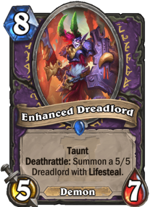 Enhanced Dreadlord Card