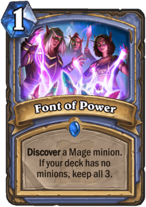Font of Power Card