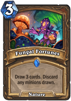Fungal Fortunes Card