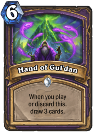 Hand of Gul'dan Card