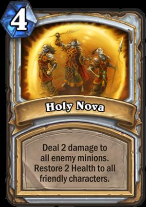 Holy Nova Card