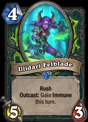 Illidari Felblade Card