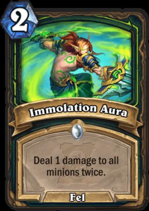 Immolation Aura Card