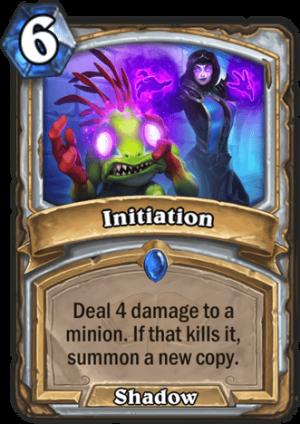 Initiation Card