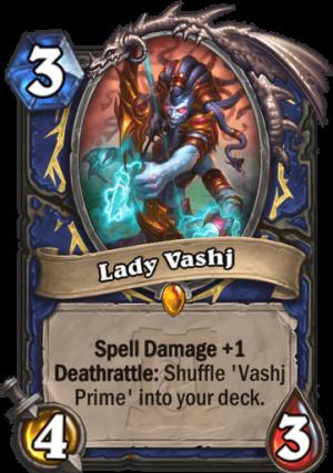 Lady Vashj Card