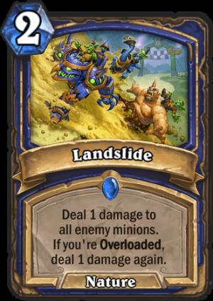 Landslide Card