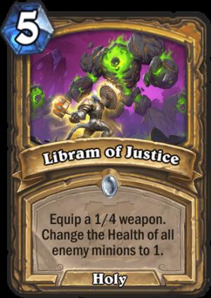 Libram of Justice Card