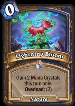 Lightning Bloom Card