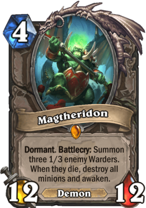 Magtheridon Card