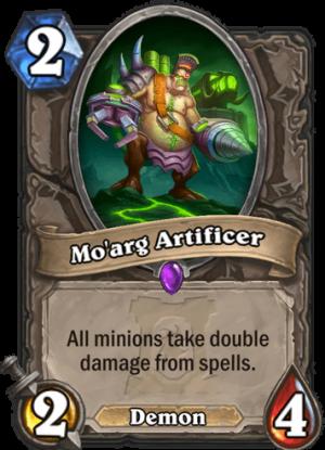 Mo'arg Artificer Card