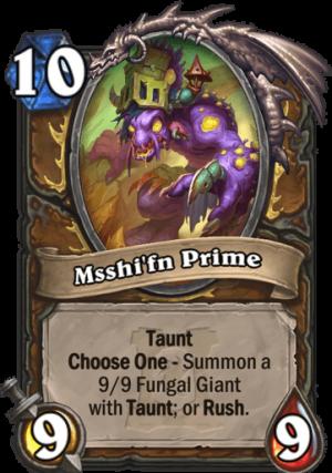 Msshi'fn Prime Card