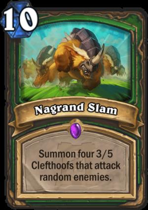 Nagrand Slam Card