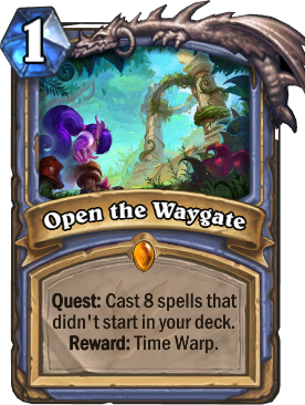 Open the Waygate Card