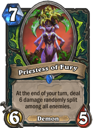 Priestess of Fury Card