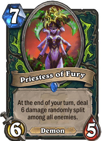 Priestess of Fury - Hearthstone Top Decks